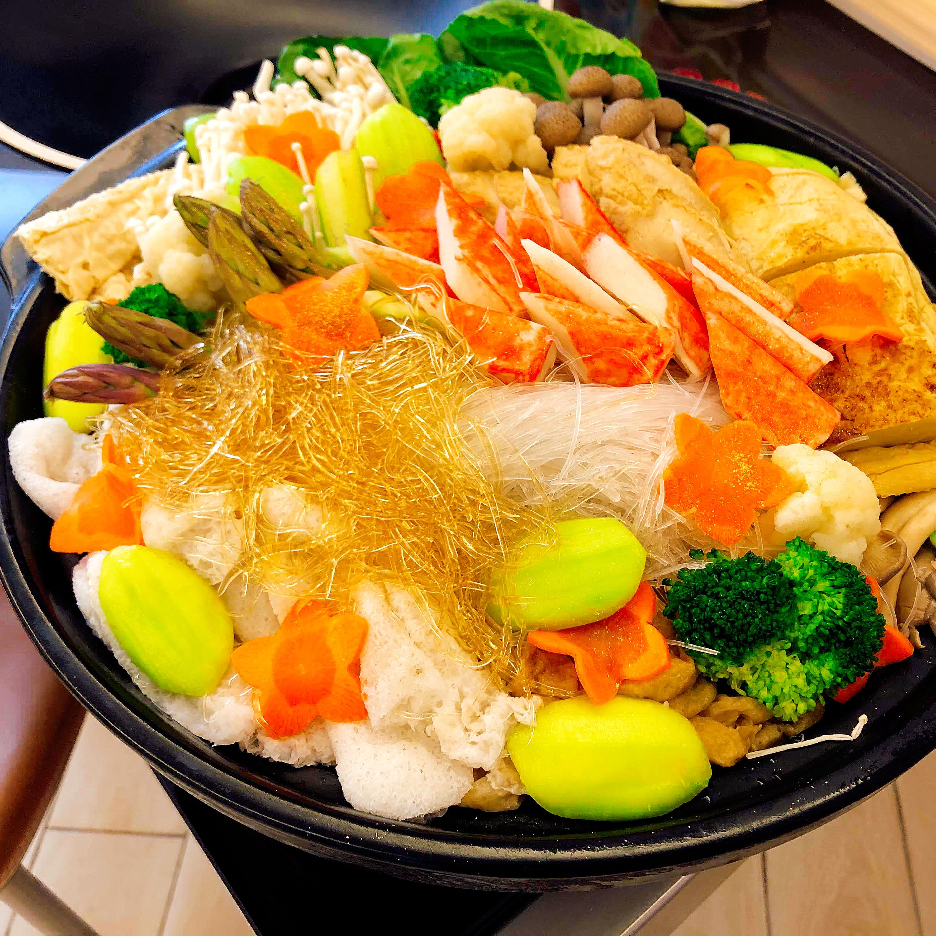 八寶素盆菜