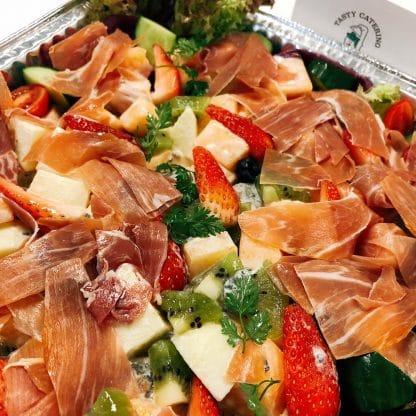沙律加配風乾火腿 - 美食到會 - 自助餐到會- 婚禮到會
