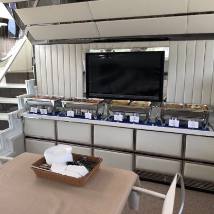 Yacht Catering, Buffet Catering,