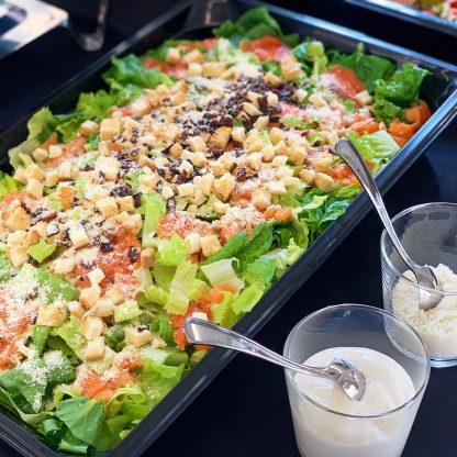 到會服務 - 商務到會 - 酒會到會 - 美食到會 - 船河到會 - 派對到會 - 自助餐到會 Caesar-Salad-with-Smoked-Salmon