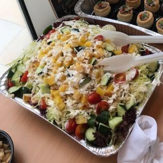 蟹肉烤菠蘿沙律 - 派對到會 - 自助餐沙律 - 到會美食
