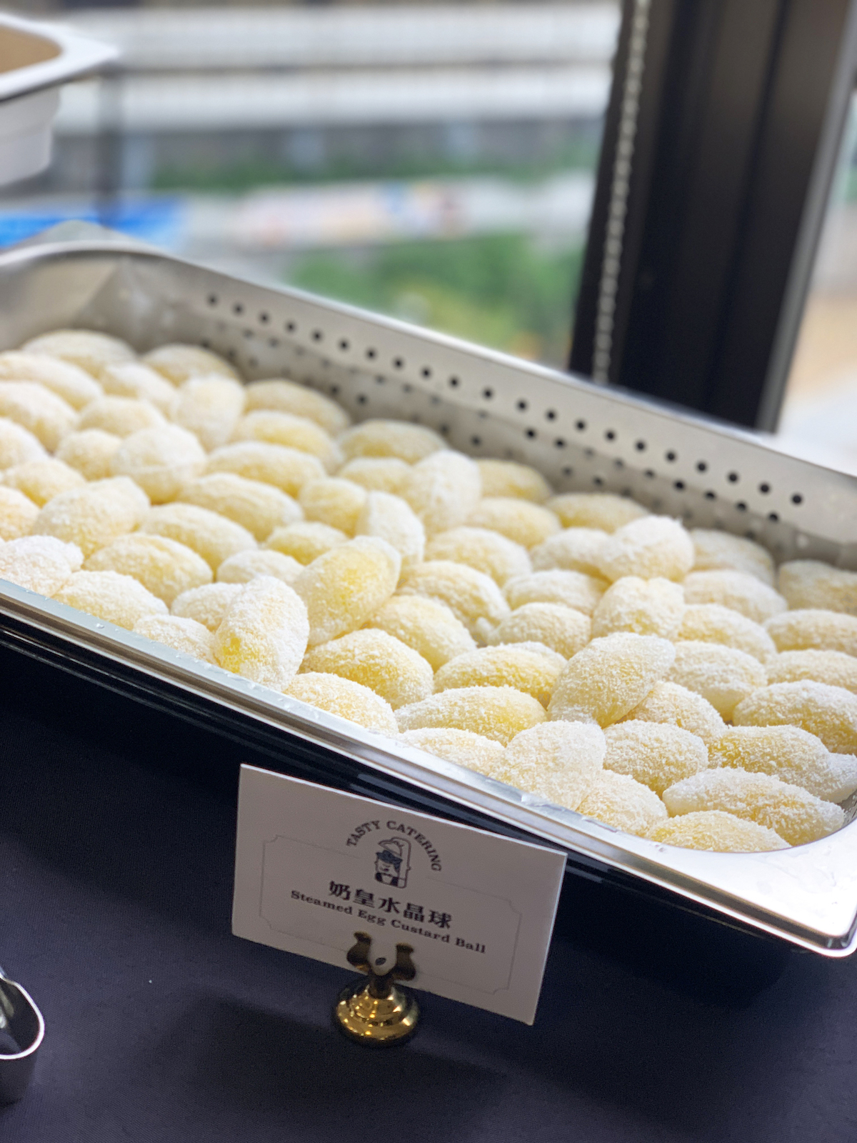 到會美食 - 奶皇水晶球 - Custard Sweet Dumpling with Coconut Flakes - Tasty Catering HK
