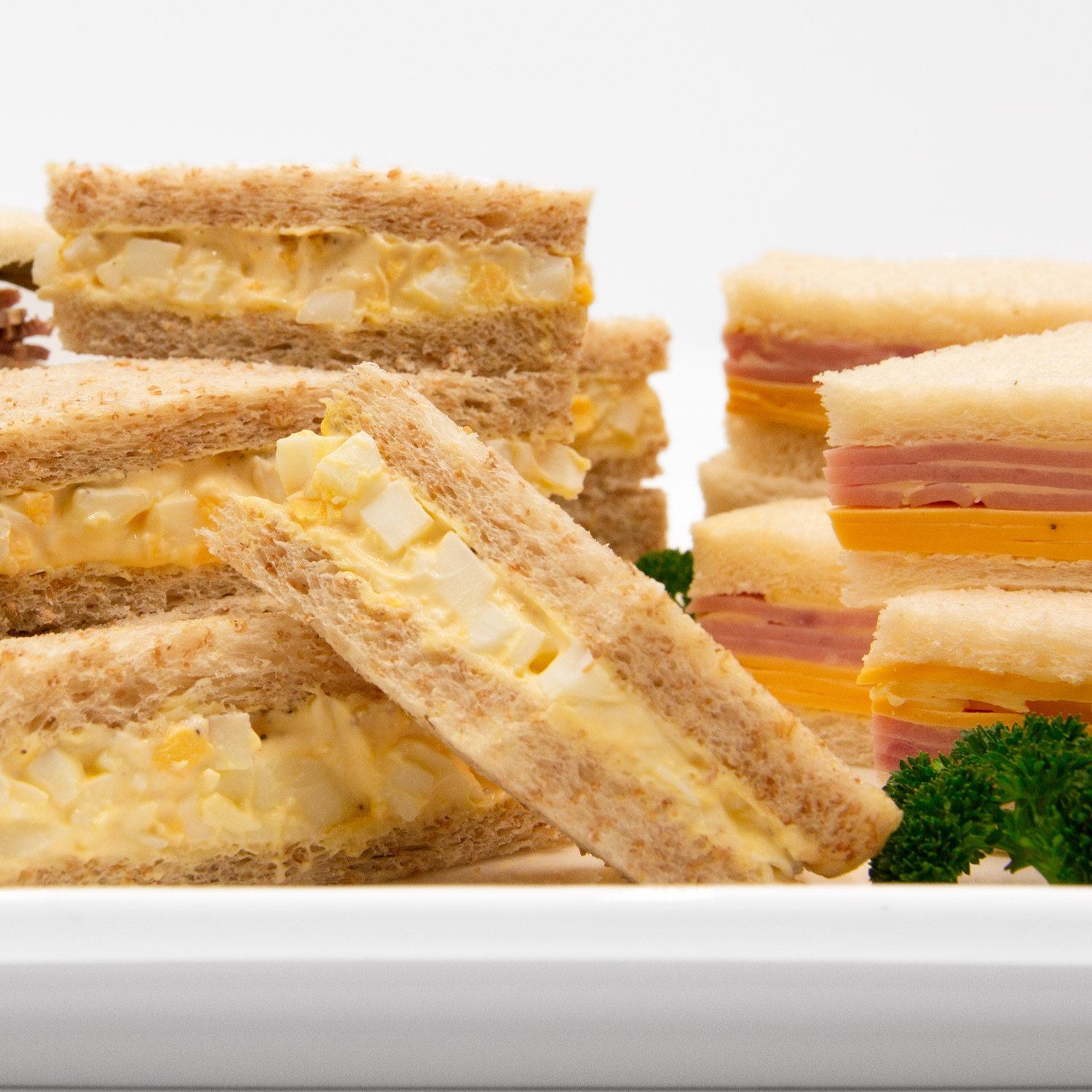 Assorted Finger Sandwiches (30 pcs)