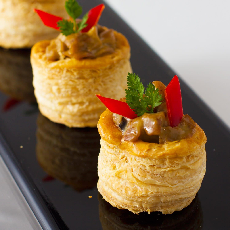 芝士醬牛肝菌小酥盒 - 酒會到會 - 商務到會 - 婚宴到會 - 開張到會