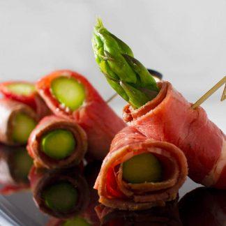 蘆筍牛肉卷 TASTY CATERING - 到會推介 - 酒會小點 - 佐酒美食 - 婚禮必備 - 精緻小點