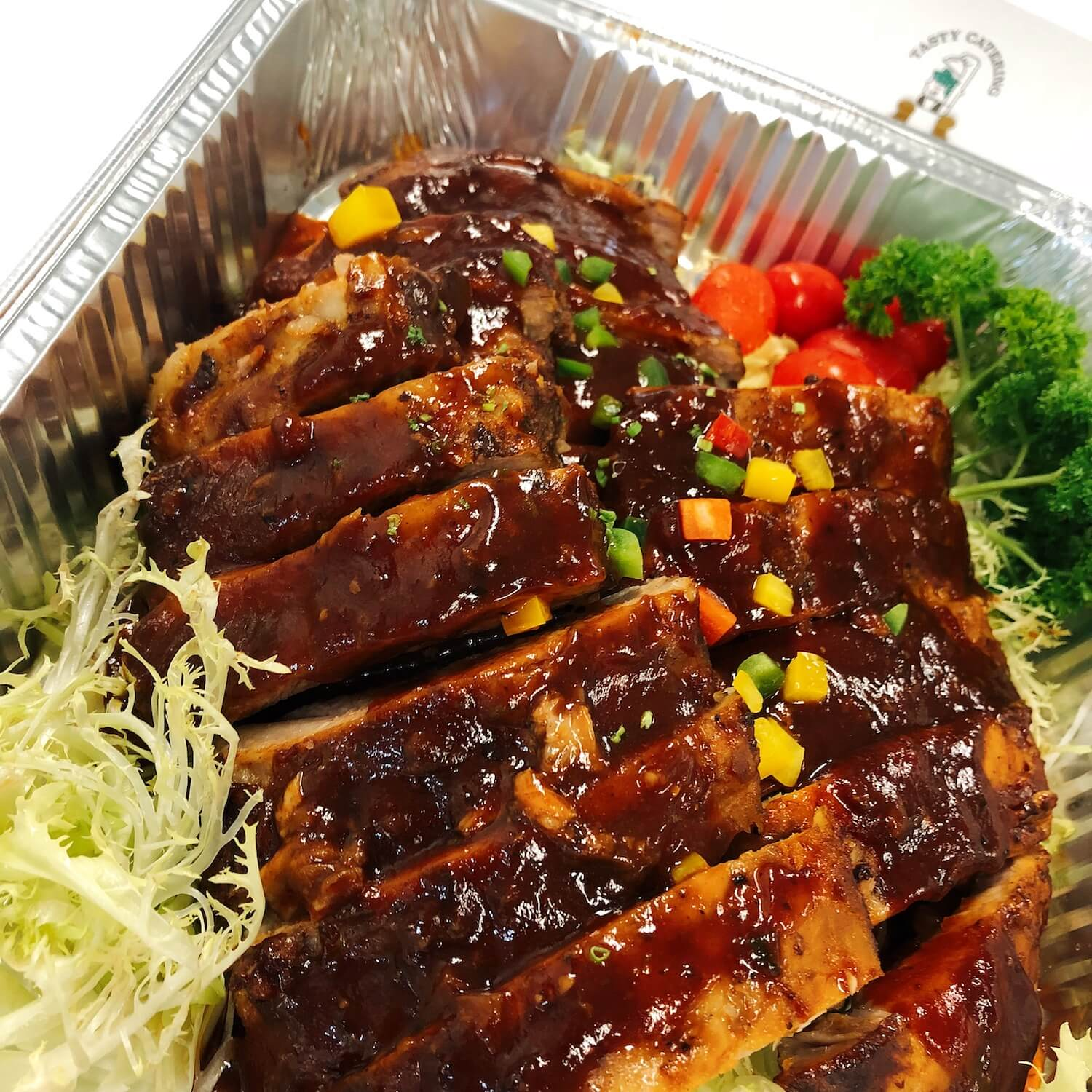 BBQ Baby Pork Back Ribs