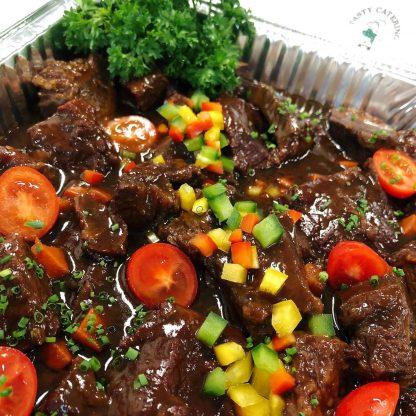 Braised Beef Cheeks in Veal Jus