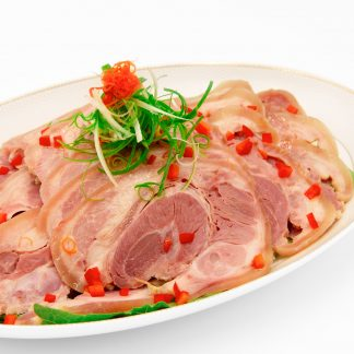 白槽鹵五香燻蹄片 Chinese Brine Pork Knuckles