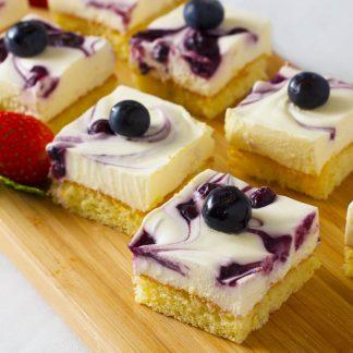 藍莓芝士蛋糕 TASTY CATERING - 到會推介 - 酒會主菜 - 佐酒美食 - 婚禮必備 - 精緻美食 - 自助餐