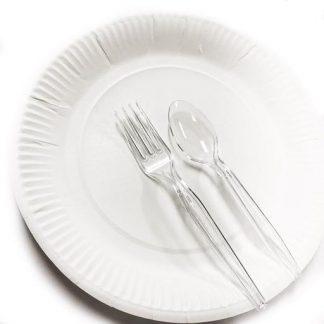 普通即棄餐具