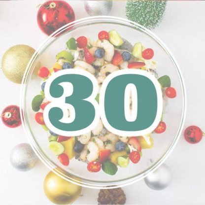 Christmas Set Menu for 30