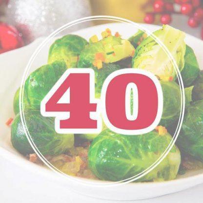Christmas Set Menu for 40