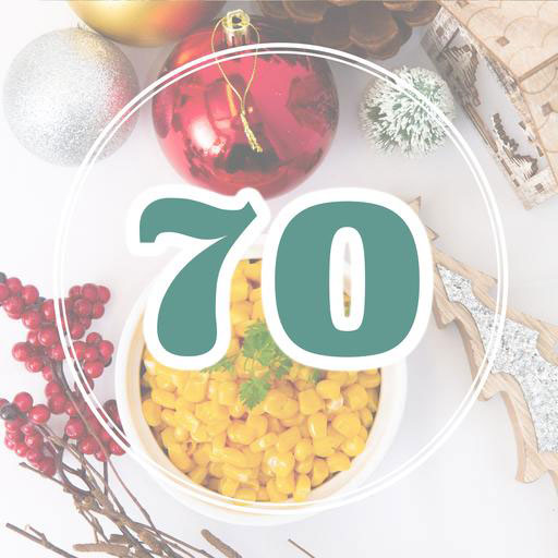 Christmas Set Menu for 70