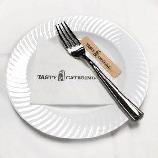 銀色即棄餐具