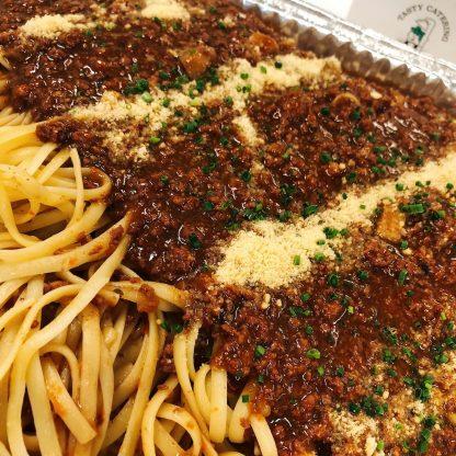 牛肉肉醬意粉 TASTY CATERING - 到會推介 - 酒會主菜 - 佐酒美食 - 婚禮必備 - 精緻美食 - 自助餐