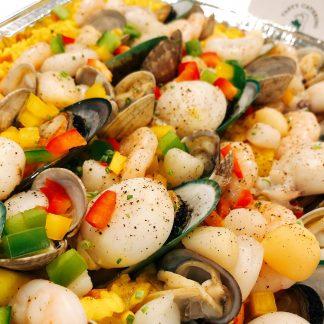 西班牙紅花海鮮飯 TASTY CATERING - 到會推介 - 酒會主菜 - 佐酒美食 - 婚禮必備 - 精緻美食 - 自助餐